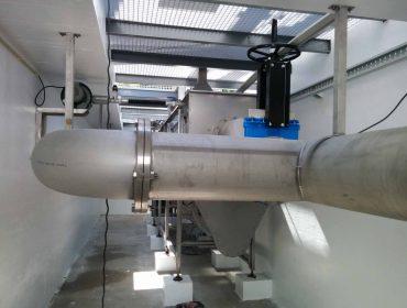 Renovation works at preliminary treatment at Wastewater Treatment Plant of Montemor-o-Novo e Torrão