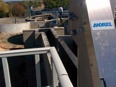 Rehabilitation works at preliminary treatment at Wastewater Treatment Plant of Alvito,Cuba e Viana do Alentejo