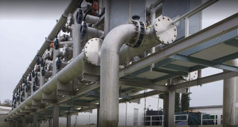 ETAR da Arreigada, Município de Paços de Ferreira – Participação Fabrico e Montagens Eletromecânicas e Tubagens