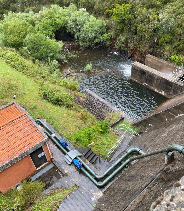 ETA de Corgas, Águas do Vale do Tejo – Participação Fabrico e Montagens Eletromecânicas e Tubagens