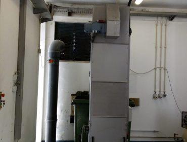 Estação Elevatória do Pisão, Águas do Centro Litoral – Instalação Grade Vertical